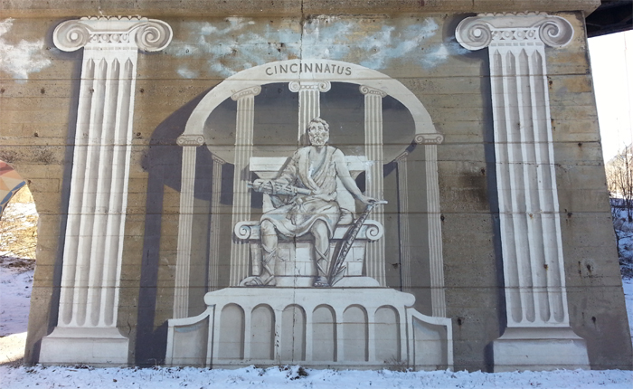 Cincinnatus Mural
